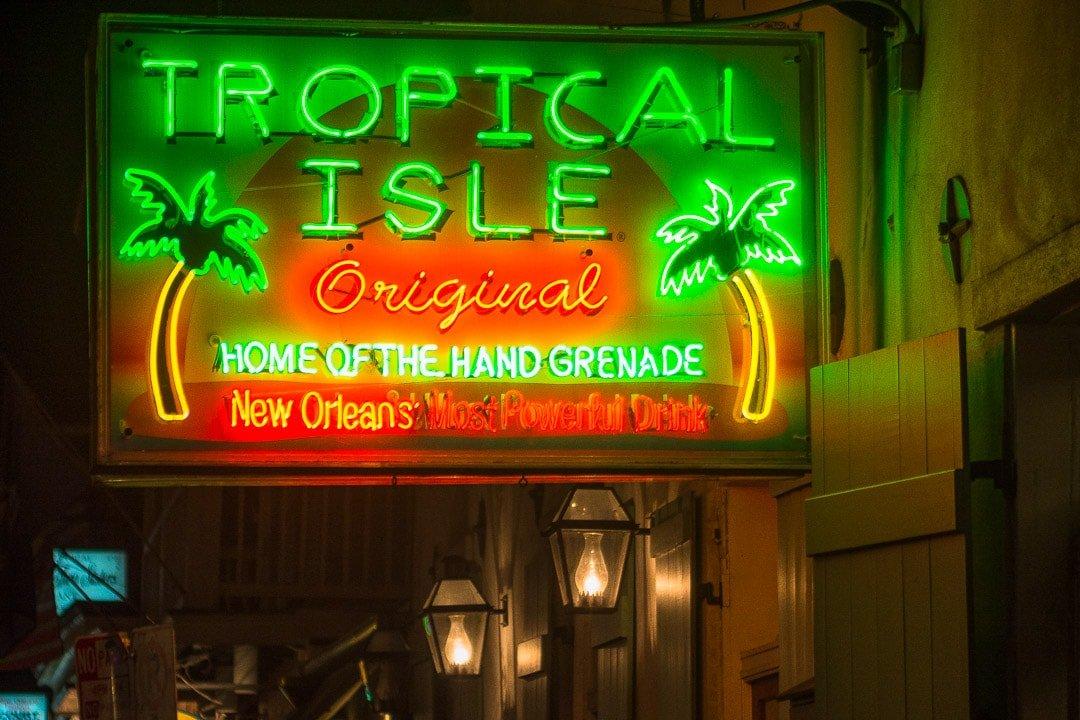 Tropical Isle best bars in NOLA