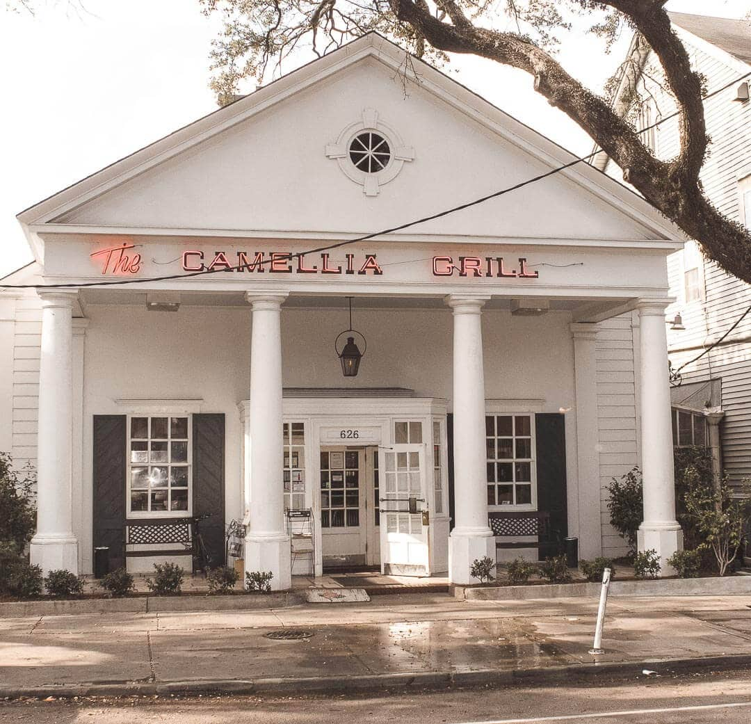 The Camellia Grill in the Uptown Carrollton neighborhood of New Orleans