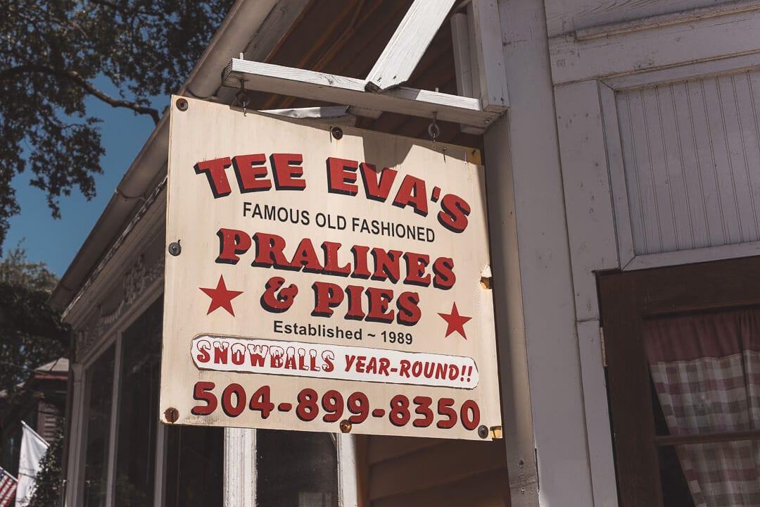 Tee Eva's Pralines and Pies