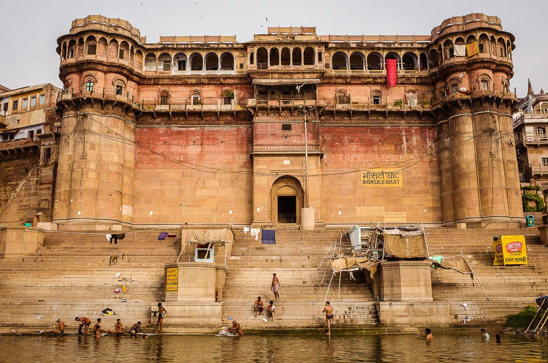Bhonsale ghat in Varanasi, India in Uttar Pradesh