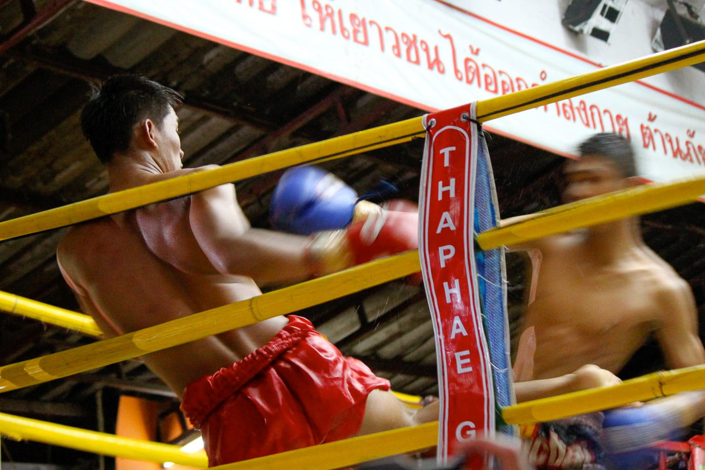 Muay Thai fight in Thailand