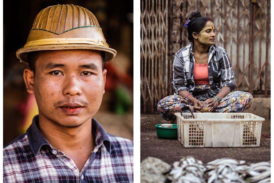 Theingyi Market - Yangon, Myanmar photo essay