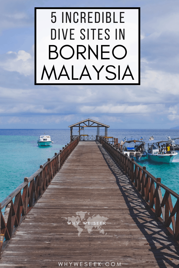 5 Incredible Dive Sites in Borneo, Malaysia // Why We Seek