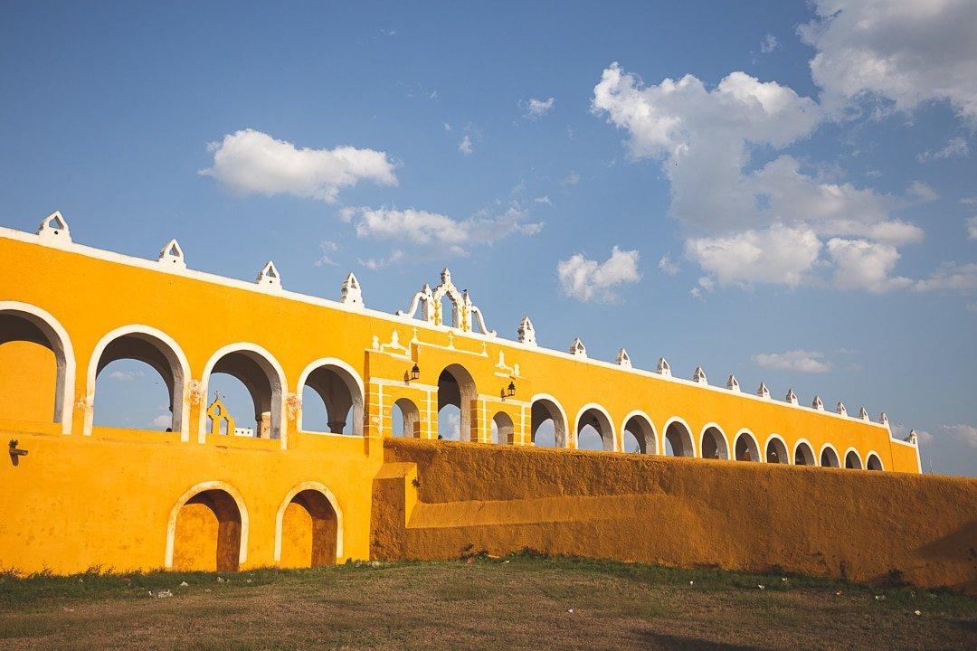 Convent San Antonio de Padua main ramp and archways