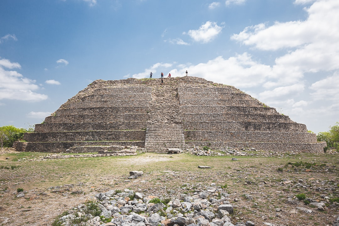Kinich Kakmó Pyramid in Izamal
