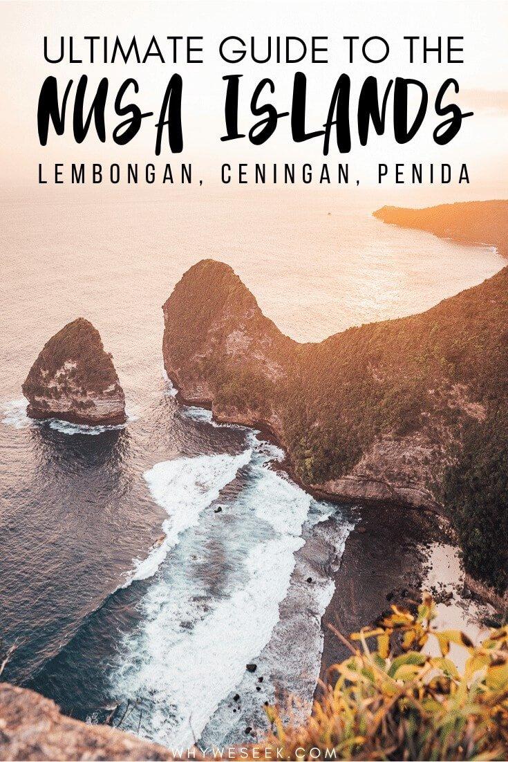 Exploring the Nusa Islands, Indonesia // Why We Seek