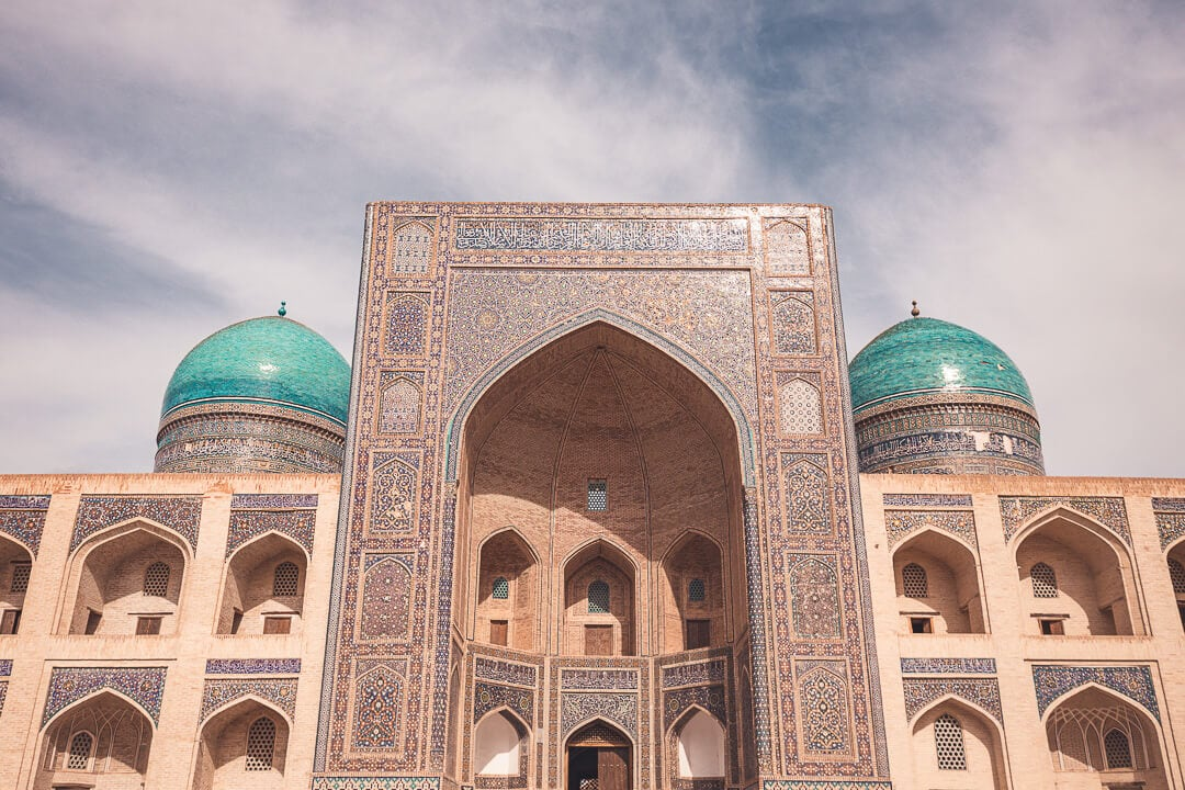 Mir i arab madrassa in Bukhara