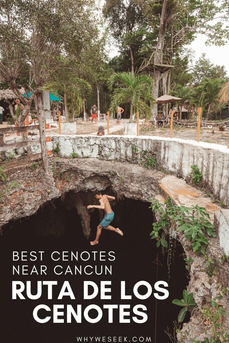 The Best Cenotes Near Cancun: Ruta de los Cenotes // Why We Seek