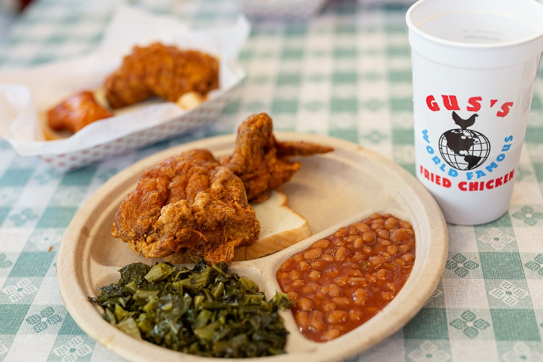 Gus's world famous fried chicken. 11 places to get your grub on in Austin, Texas.