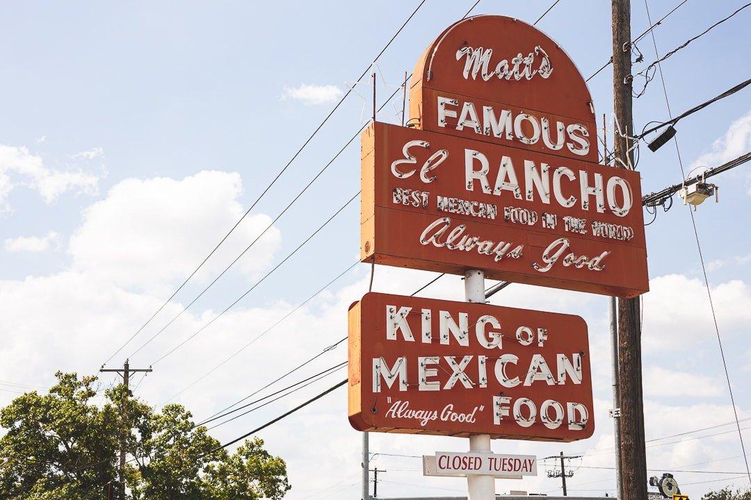 Matt's Famous El Rancho. 11 Austin restaurants we love