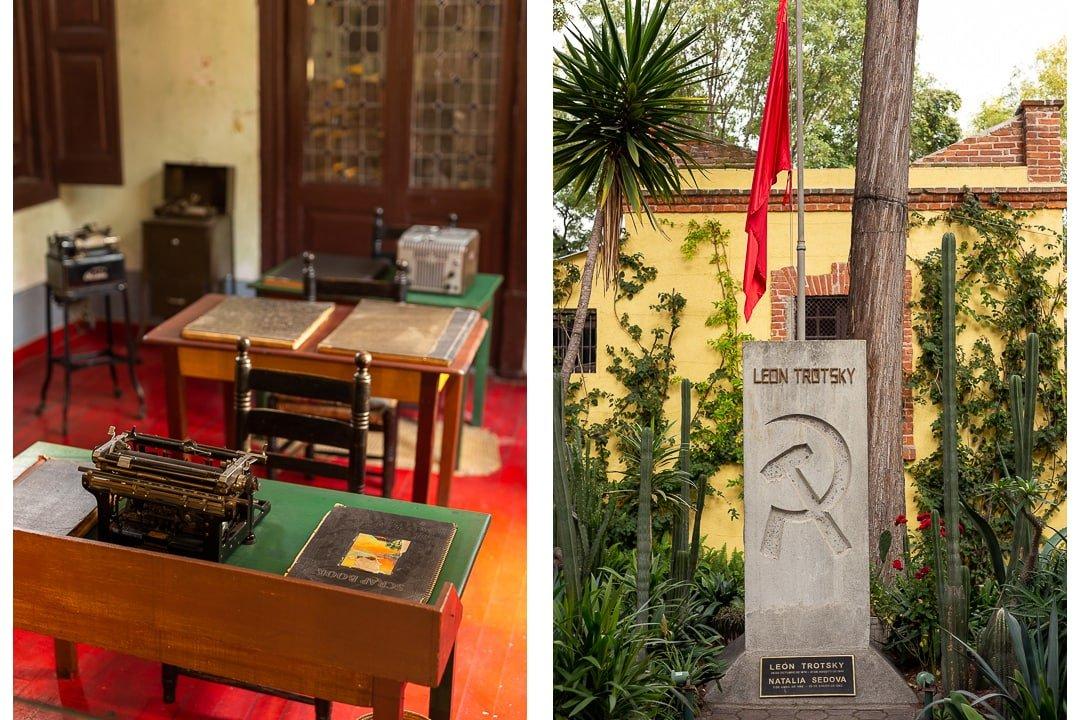 Leon Trotsky Museum Coyoacán Mexico