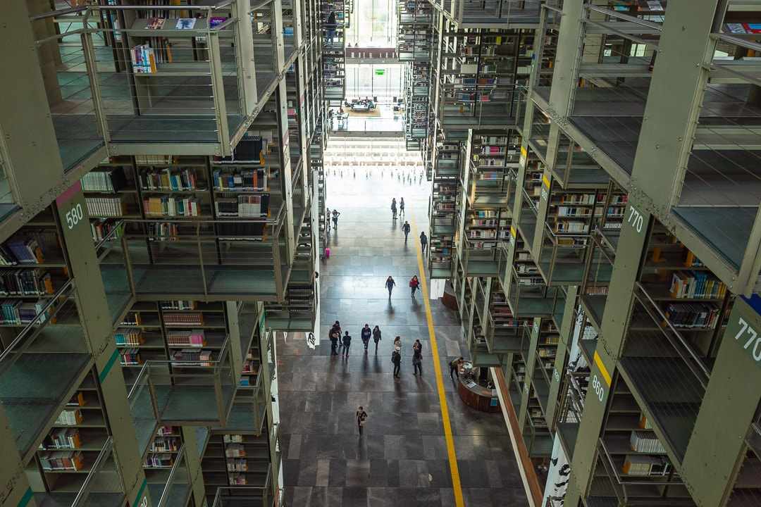 Biblioteca Vasconcelos Mexico City