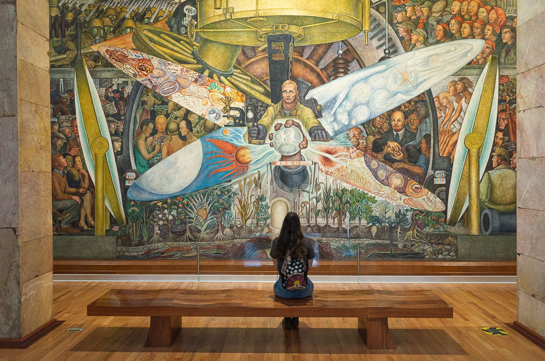 Man, Controller of the Universe by Diego Rivera