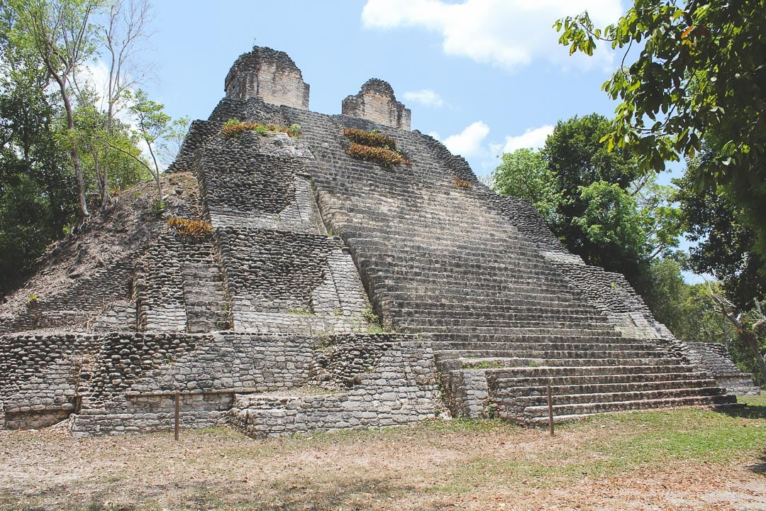 Dzibanche ruins in Quintana Roo, Mexico
