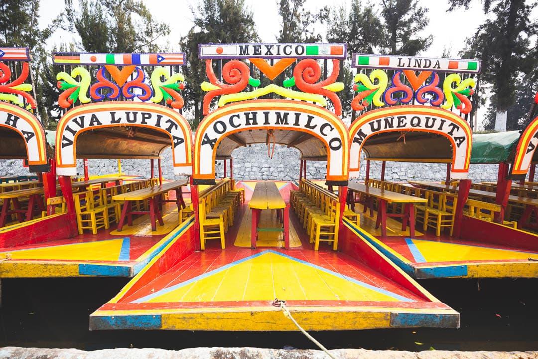 Xochimilco in Mexico City