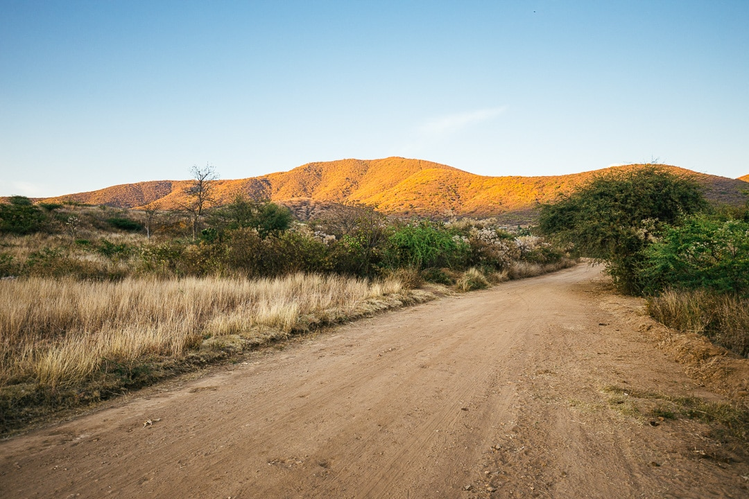 Dirt road in Lachigolo, Oaxaca
