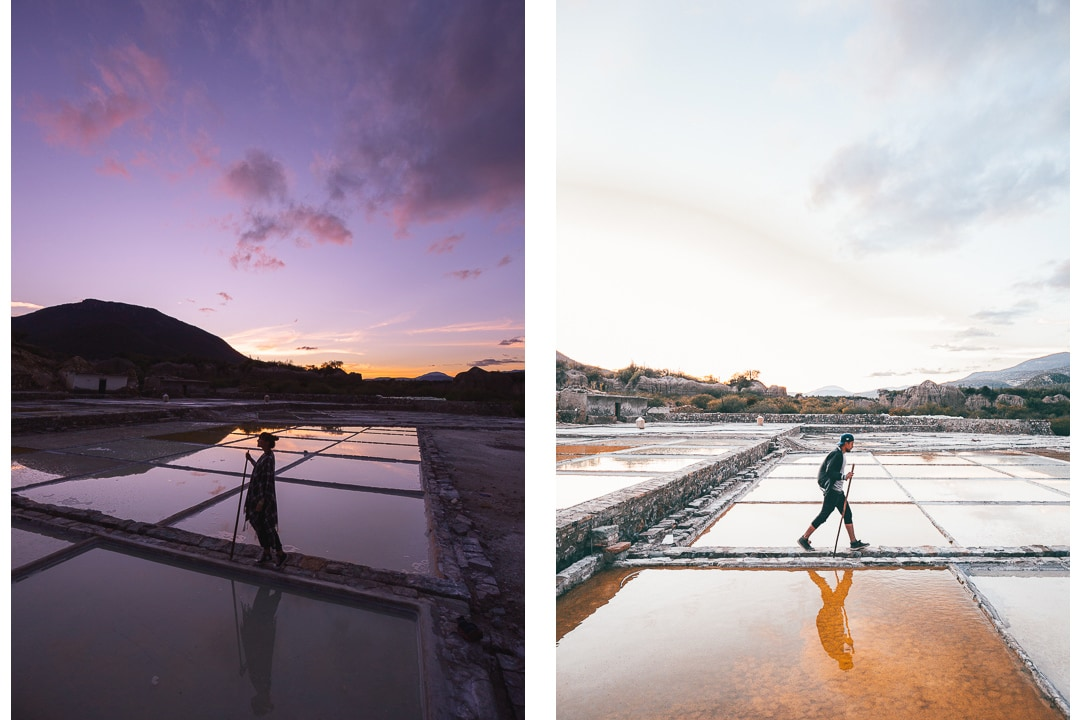 The salt mines in Zapotitlán Salinas, Mexico.