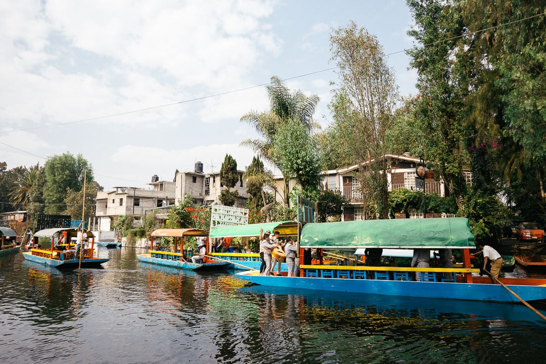 Canals at Xochimilco